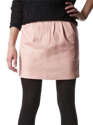 La jupe en cuir de Promod   Fashion Winter 2014   Winter fashion ... e066a67263c5