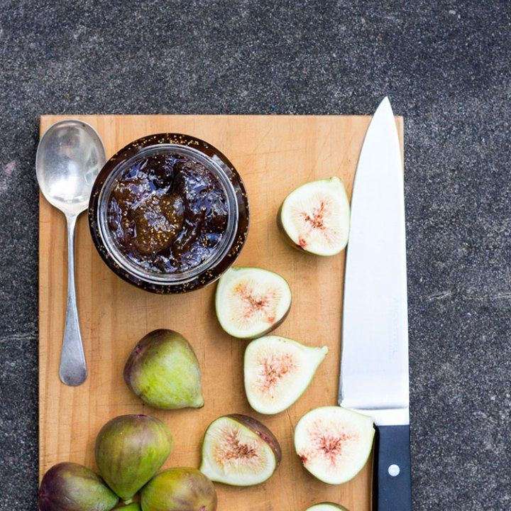 Fig, balsamic and vanilla jam perfect with fresh scones