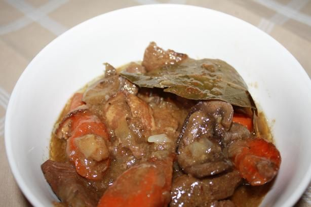 Crock Pot Venison Stew with Bacon
