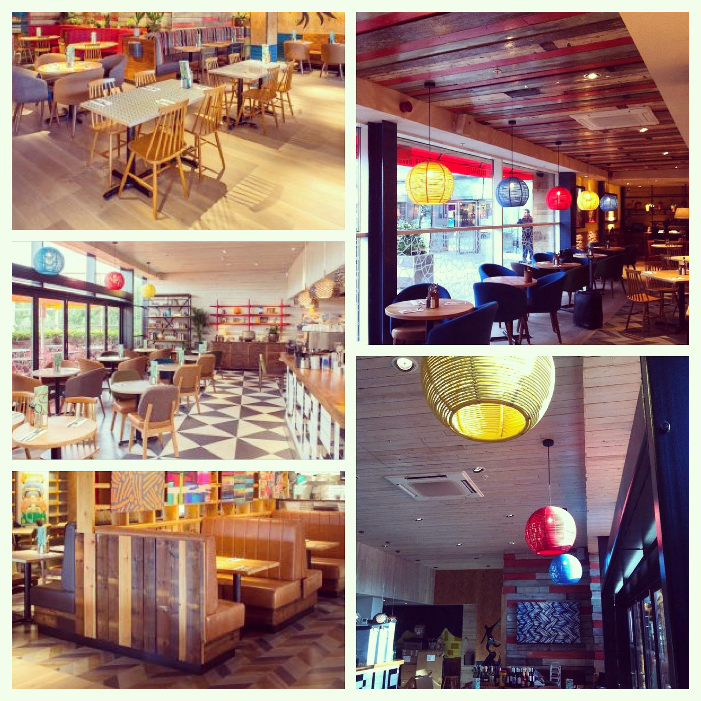 Giraffe Concept Restaurant S Restau At Glasgow Scotland Newcastle United Kingdom Uk