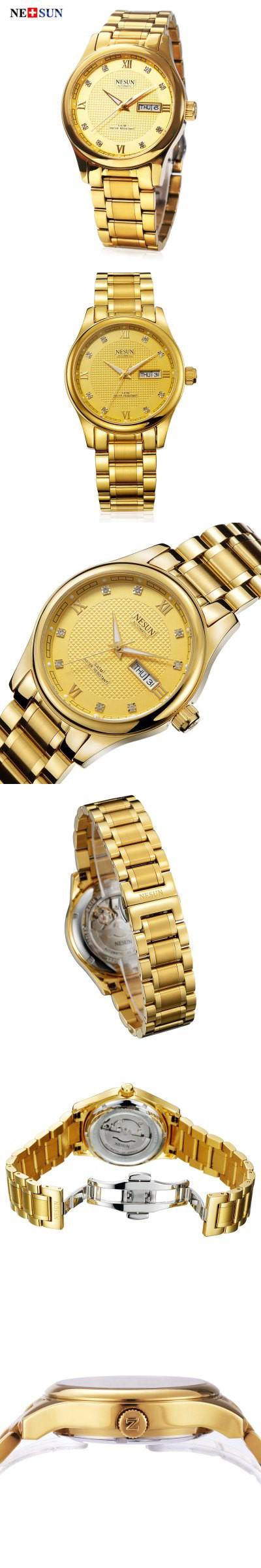 NESUN MS9121 Male Automatic Mechanical Watch