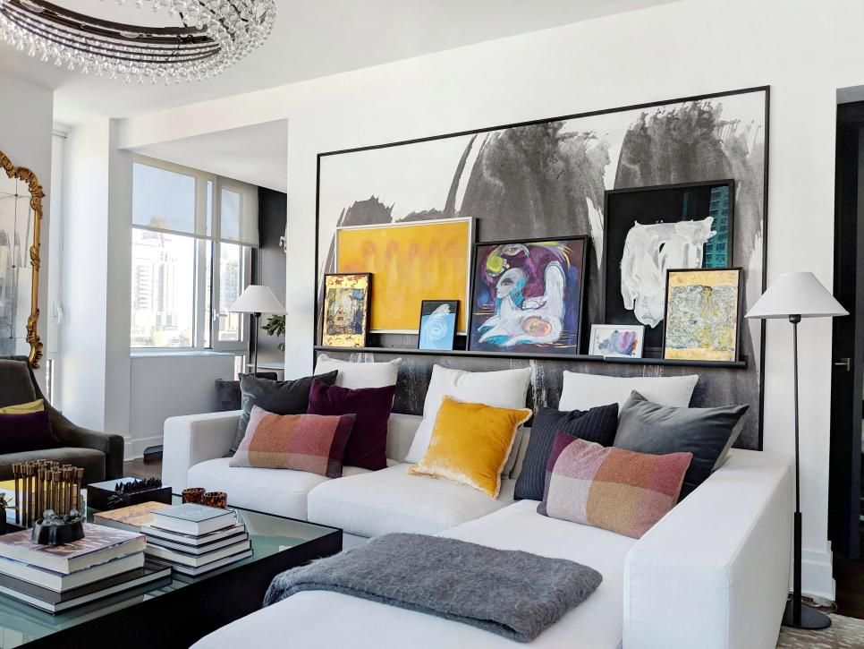 11 Ideas For Designing On A Budget Hgtv Eclectic Living Room Living Room Update Living Room Sofa