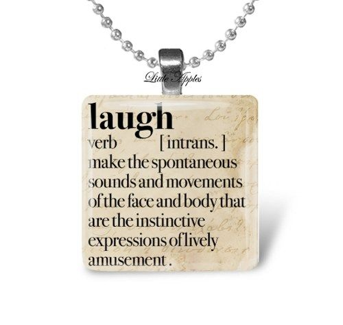 Embrace dictionary definition pendant necklace by riverwalkdesigns laugh dictionary definition motivational 1 inch square glass necklace littleapples jewelry on artfire mozeypictures Gallery