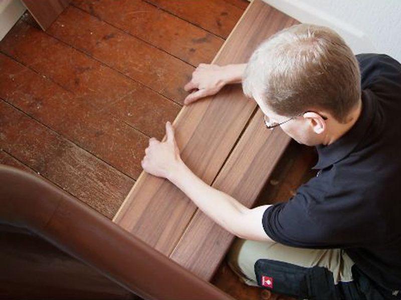 Alte Stufen Renovieren Laminat Auf Treppen Verlegen In