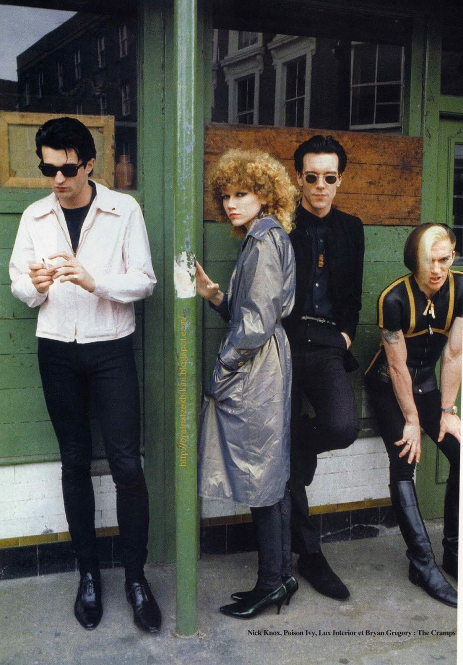 The Cramps hangin out | The Cramps | The cramps, Psychobilly