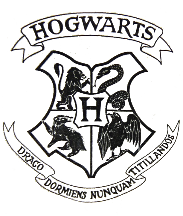 Transparent Hogwarts crest file from a harry potter letter ...