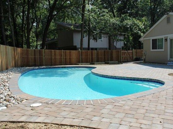 Concrete Paver Pool Deck Site Nrc Landscape Construction