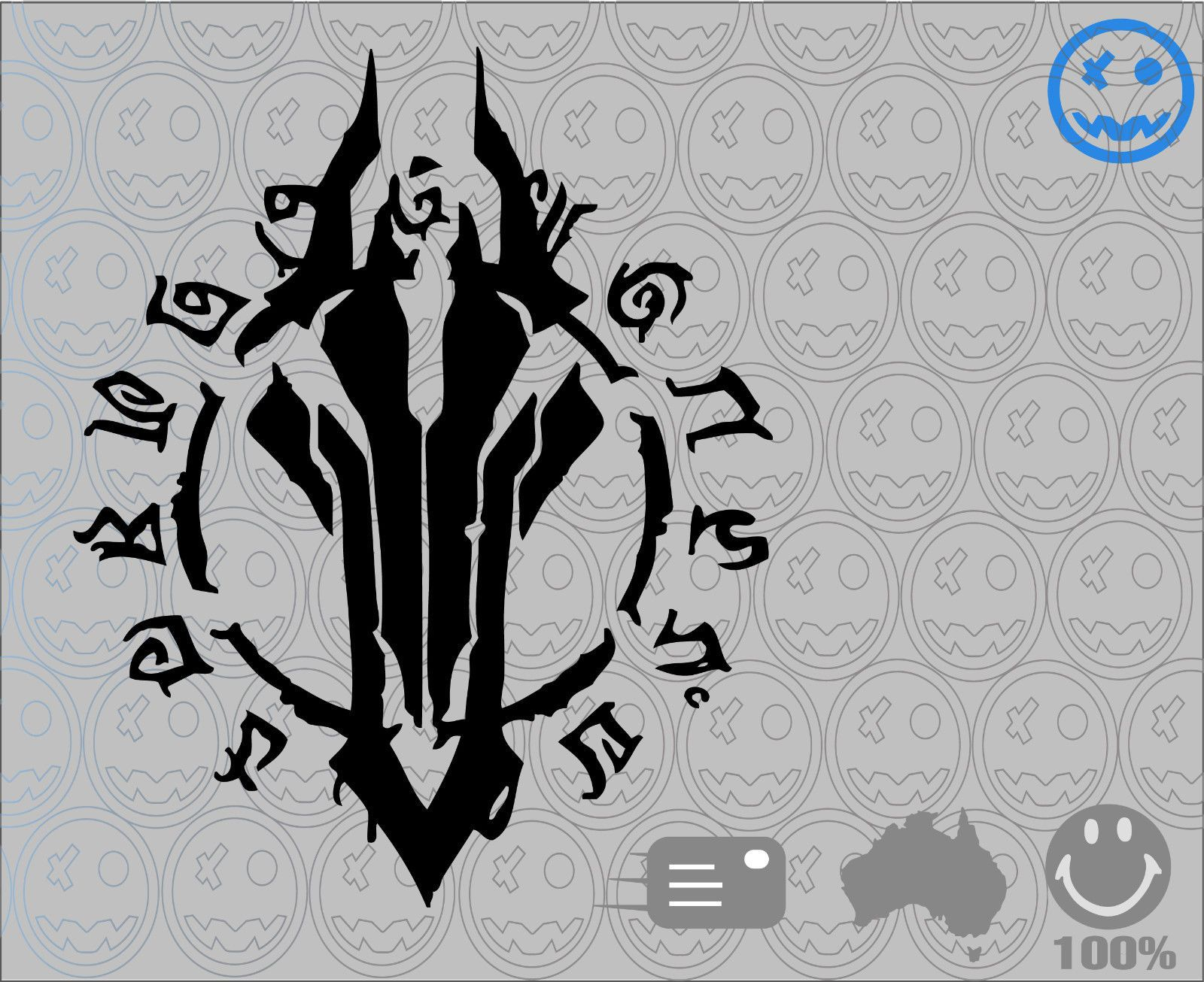 Details About Darksiders 2 Ii Sticker Decal 22cmh Black