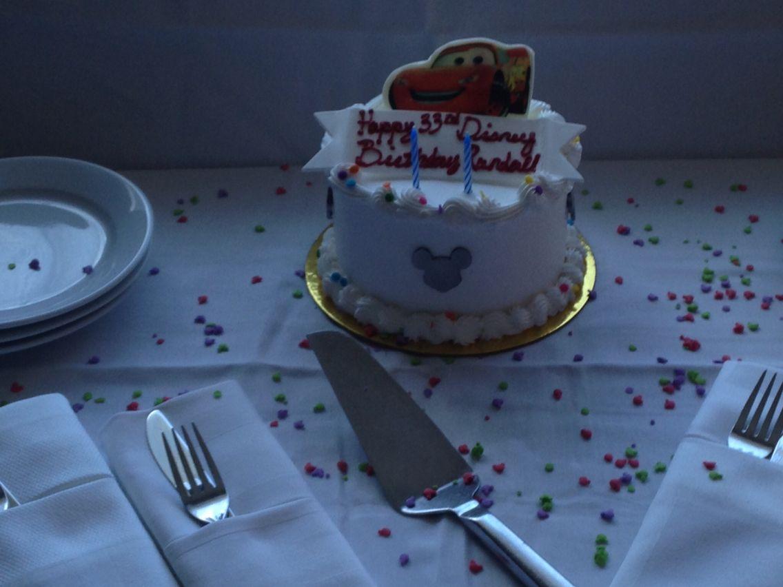Birthday Cake At Disneyland