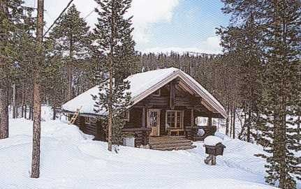 Salla Fell Cottages The privately owned timber cabins of mountain fell Salla are all located within a short walking distance from the skiin...