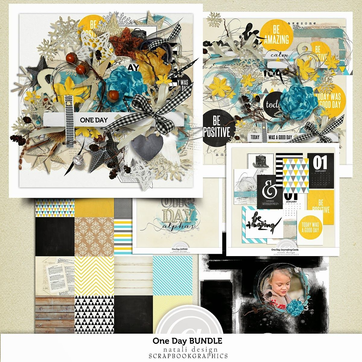 Natali Design: One Day collection + Freebie