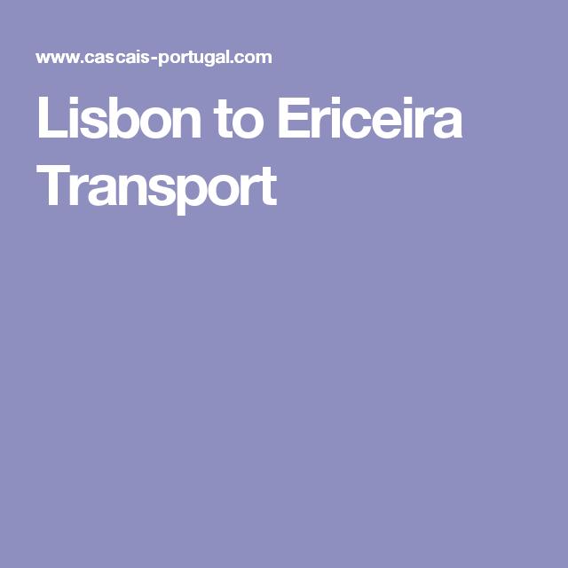 Lisbon to Ericeira Transport
