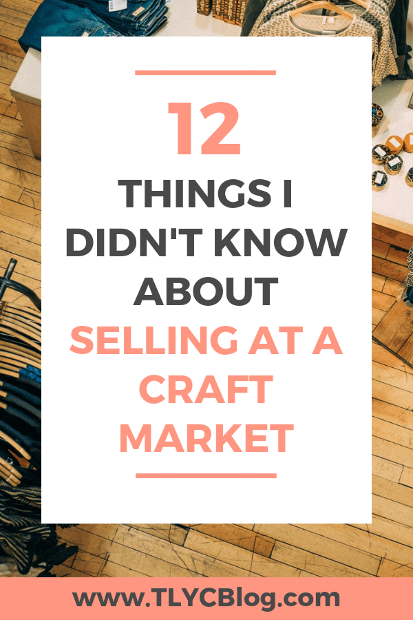 12 Tips for Craft Show Newbies in 2020 Craft markets