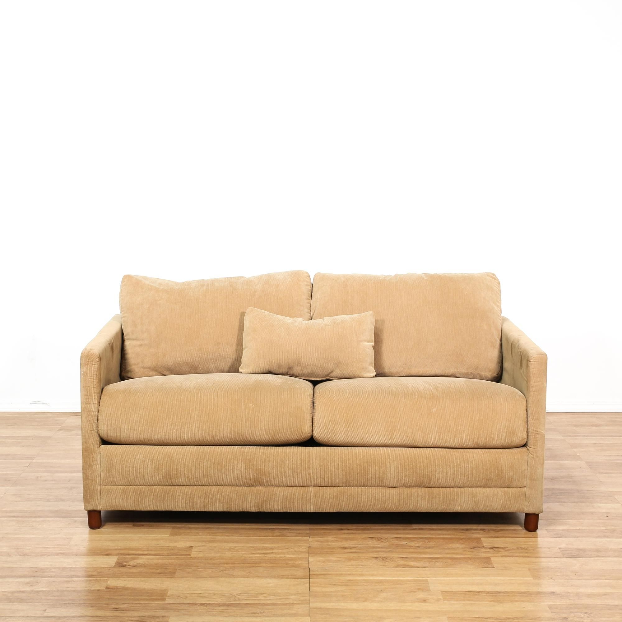 This Sleeper Sofa Is Upholstered In A