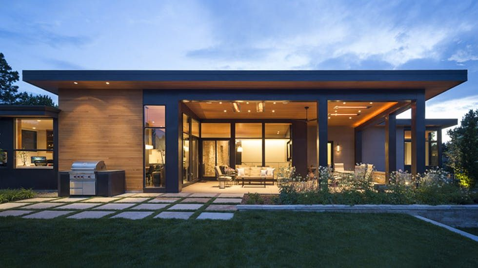 Modern Golf Course Home Hmh Architecture Interiors Archello House Exterior Modern House Exterior Architecture House