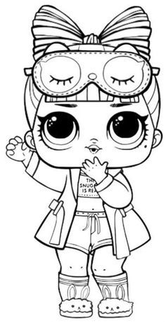 printable lol doll coloring pages in 2020  hello kitty coloring lol dolls cute coloring pages