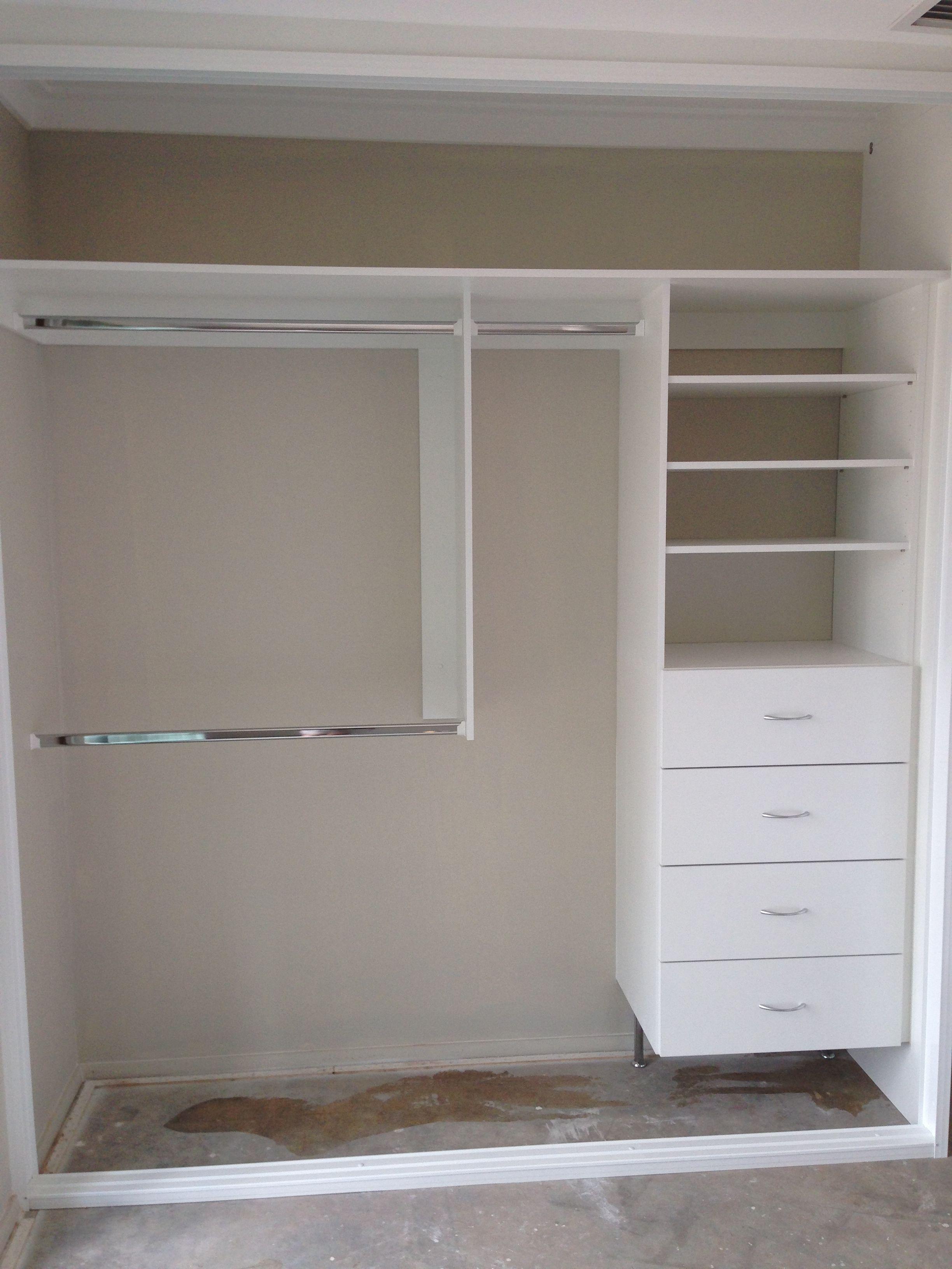 VERSATILE LAYOUT FOR SMALL WARDROBE  Built in wardrobe, Wardrobe