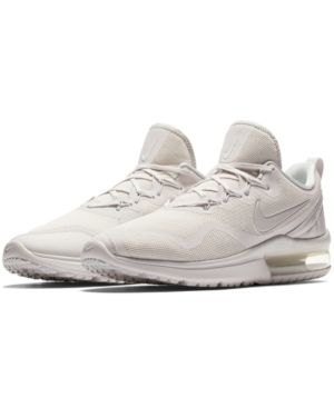 timeless design 451fb 7d35b Nike Men s Air Max Fury Running Sneakers from Finish Line - White 11.5