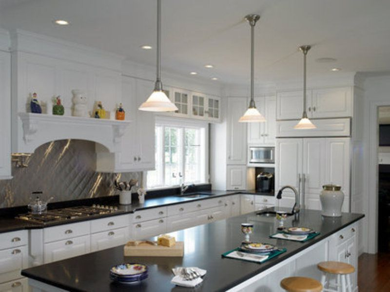 Pictures Of Pendances Over Kitchen Island | Kitchen Island Pendant Lighting,  Pendant Lighting Becoming Accessory