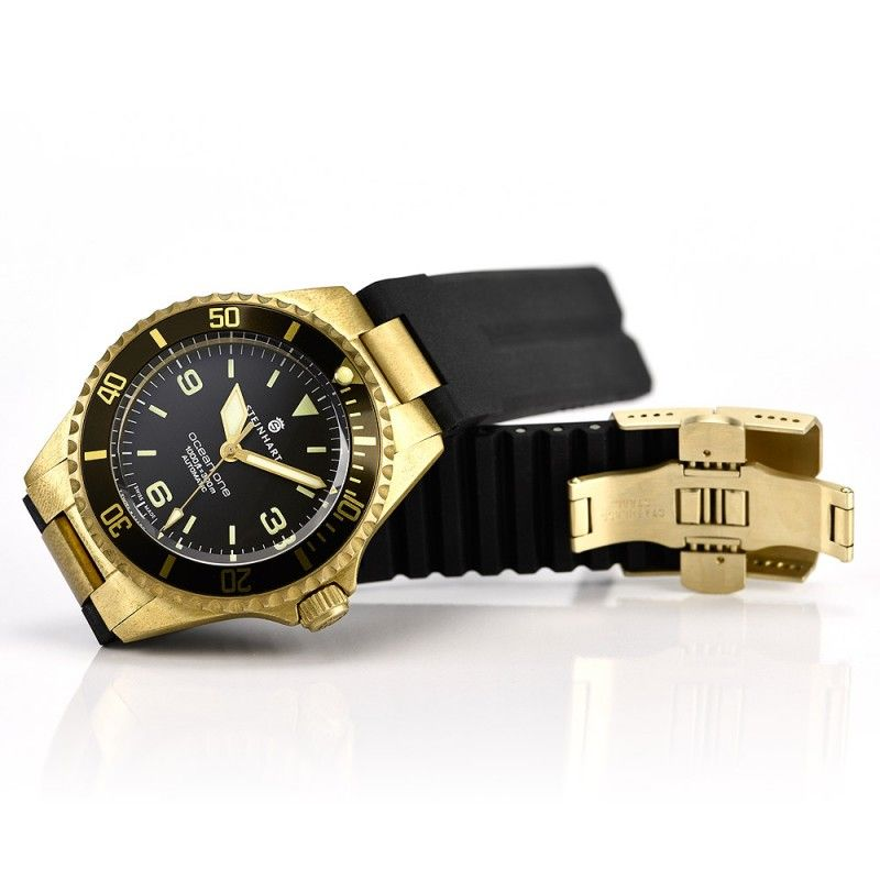 OCEAN 1 Bronze dark brown - Diver Watches - Steinhartwatches