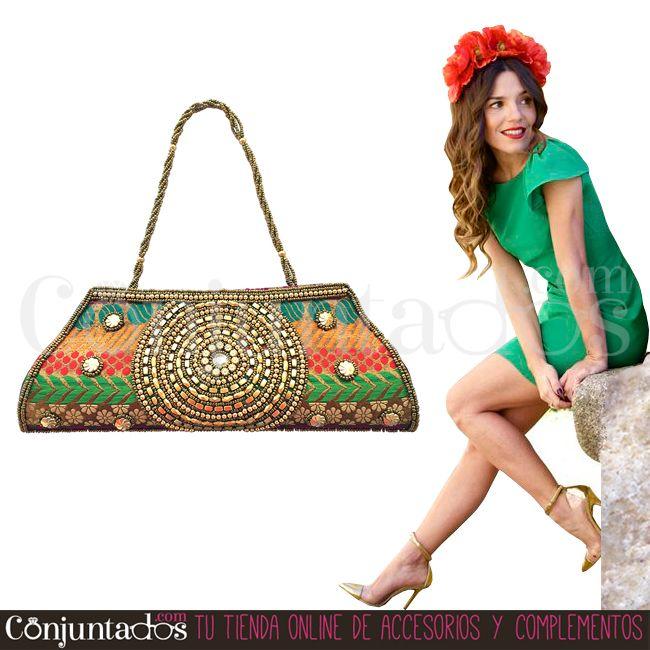 Descubre nuestra fantástica selección de #bolsos de #fiesta ★ 19,95 € en https://www.conjuntados.com/es/bolsos/bolsos-de-mano/bolso-de-fiesta-con-lentejuelas-tipo-hindu.html ★ #novedades #bolso #handbag #purse #crossbodybag #conjuntados #conjuntada #accesorios #lowcost #complementos #moda #fashion #fashionadicct #picoftheday #outfit #estilo #style #GustosParaTodas #ParaTodosLosGustos