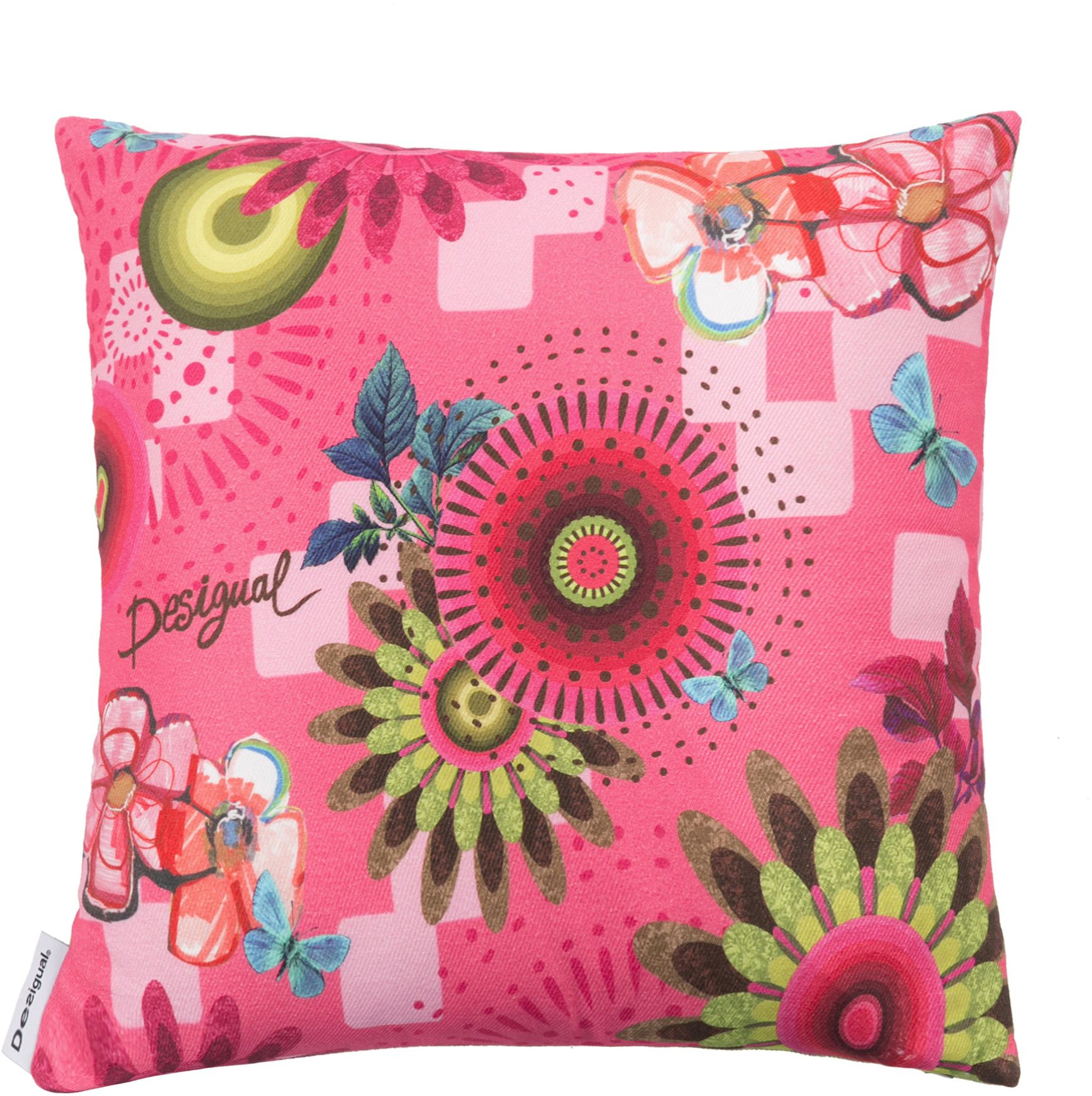 Mojito Kussen Roze  Desigual Pink Throw Pillowspink