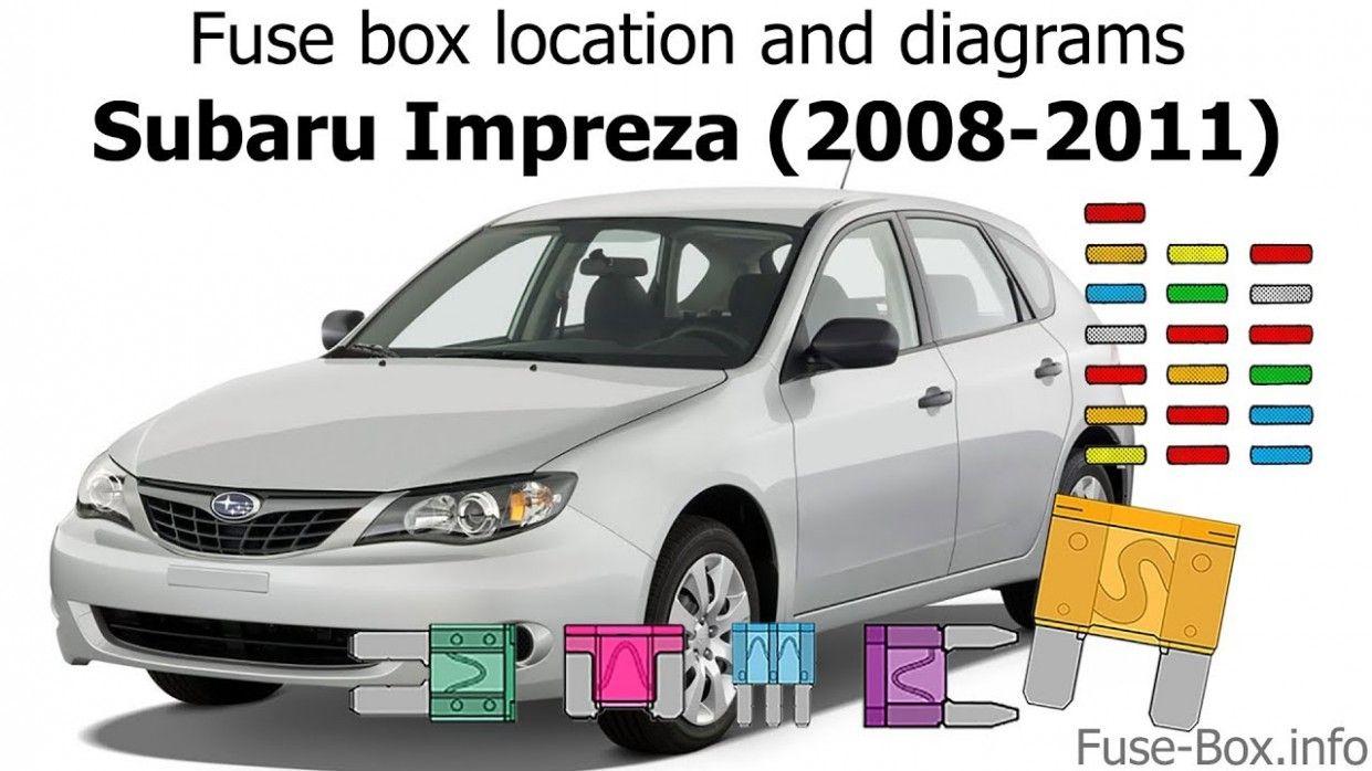 40 Subaru Impreza Engine Diagram