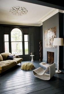 Black Beauty Eyeswoon Home Living Room Wall Designs Interior