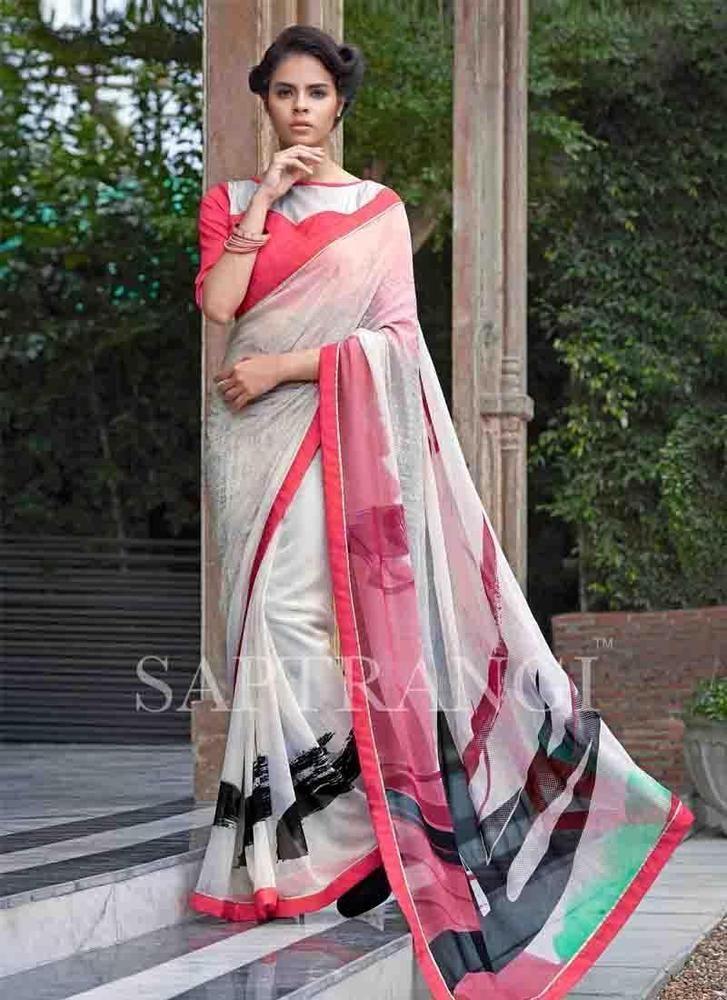 Buy 1 Get 1 Free Pakistani Sari Partywear Bollywood Designer Ethnic ...