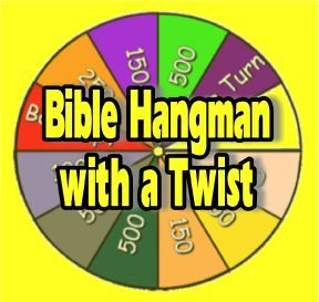 "Scripture Lady's Bible Review Games: Bible Hangman with a ""Twist"