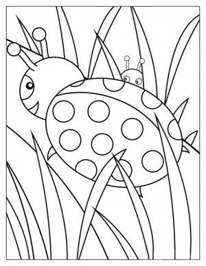 Ladybugs Coloring Book 10 Ladybug Coloring Page Bug Coloring Pages Printable Coloring Book