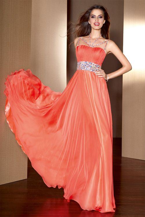 Elegant Prom Dresses for Dark Colors