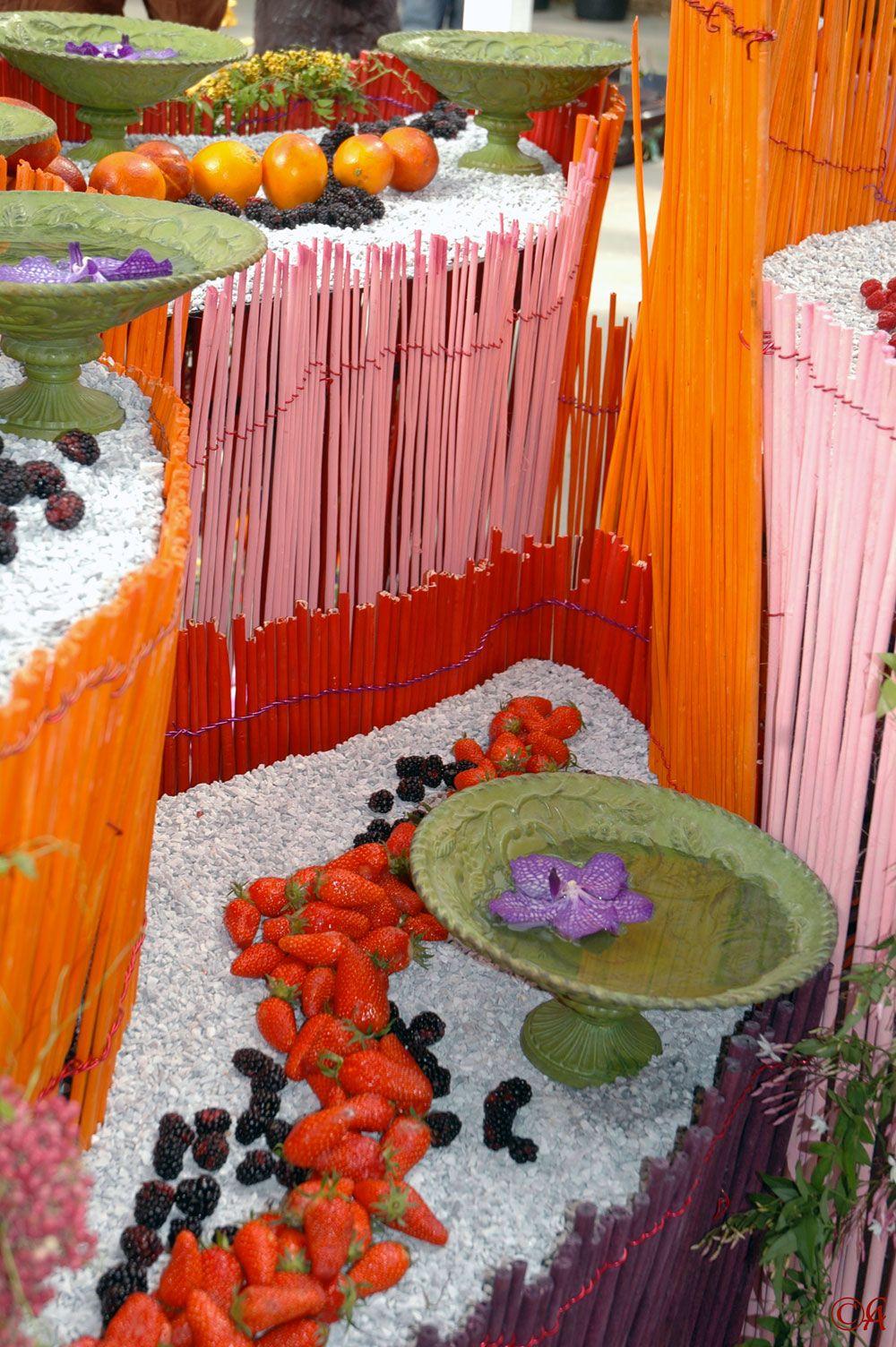 Composition au parc floral