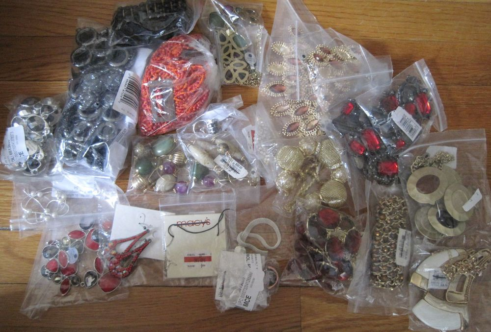5+ Pounds~High End Department Store~Customer Returns Lot~Jewelry Craft Repair