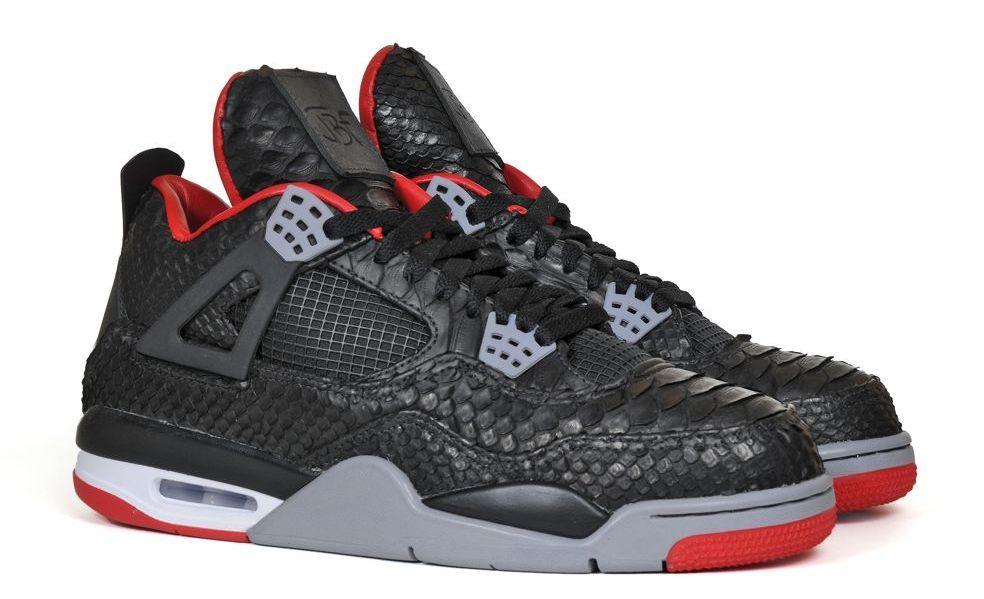 """Air Jordan IV """"Python"""" Customs by JBF"""