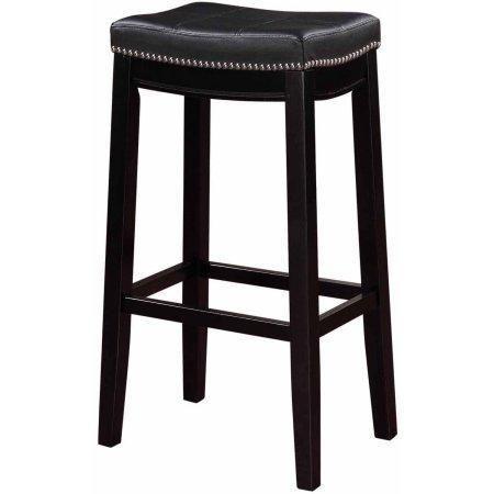 Linon 55816blk01u Claridge Black Bar Stool In 2019