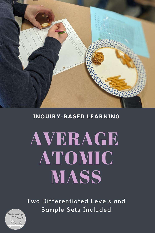 Average Atomic Mass Activity Inquiry Challenge in 2020