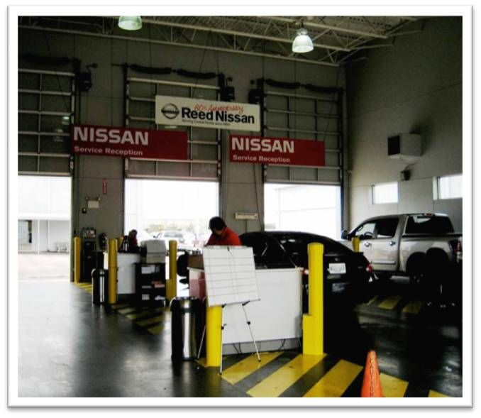 Check Out Our Service Center At Reed Nissan In Orlando Fl Nissan Reeds Service