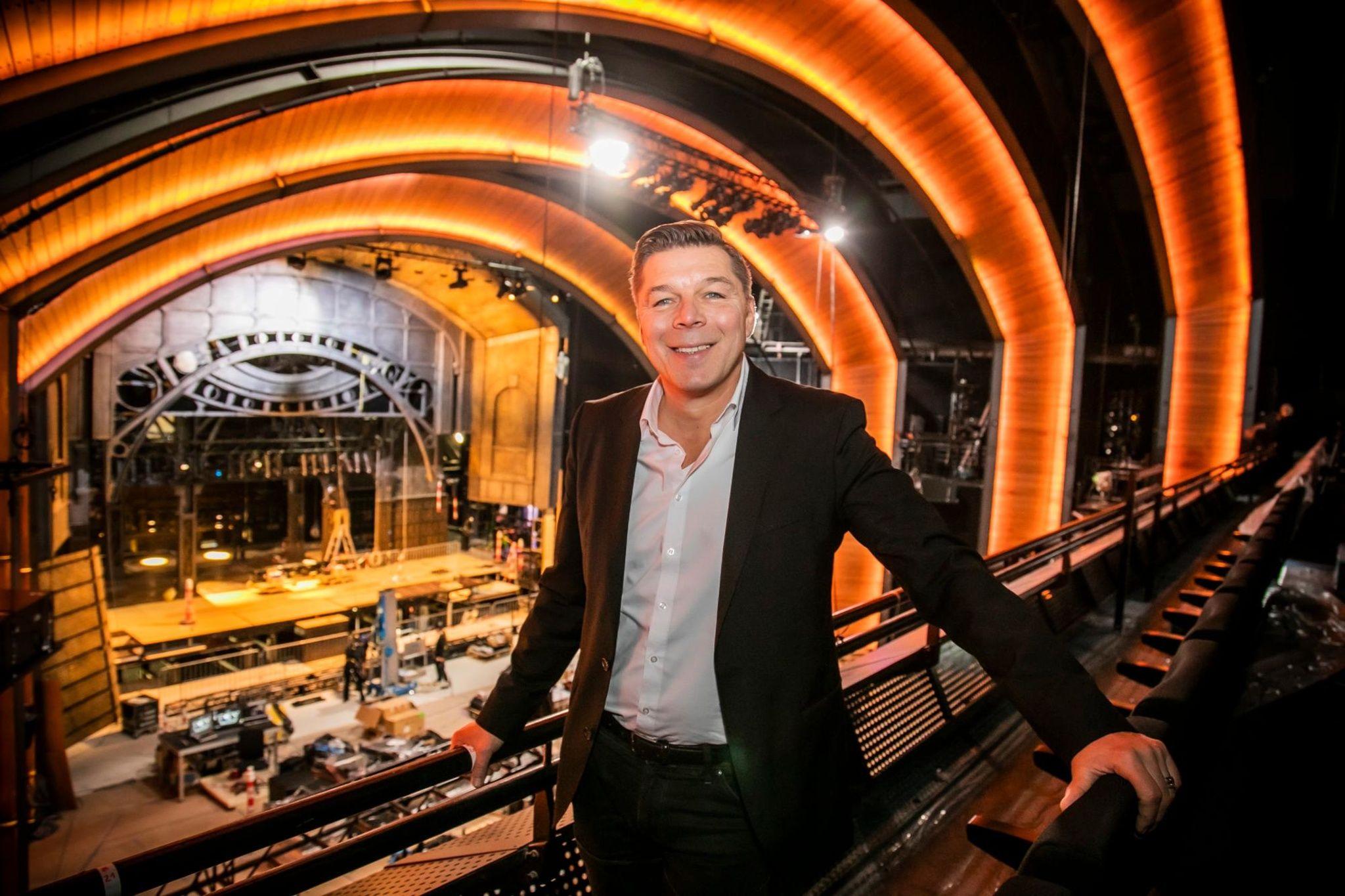 Umbau Des Mehr Theater Fur Harry Potter Schreitet Voran Theater Das Verwunschene Kind Theaterstuck