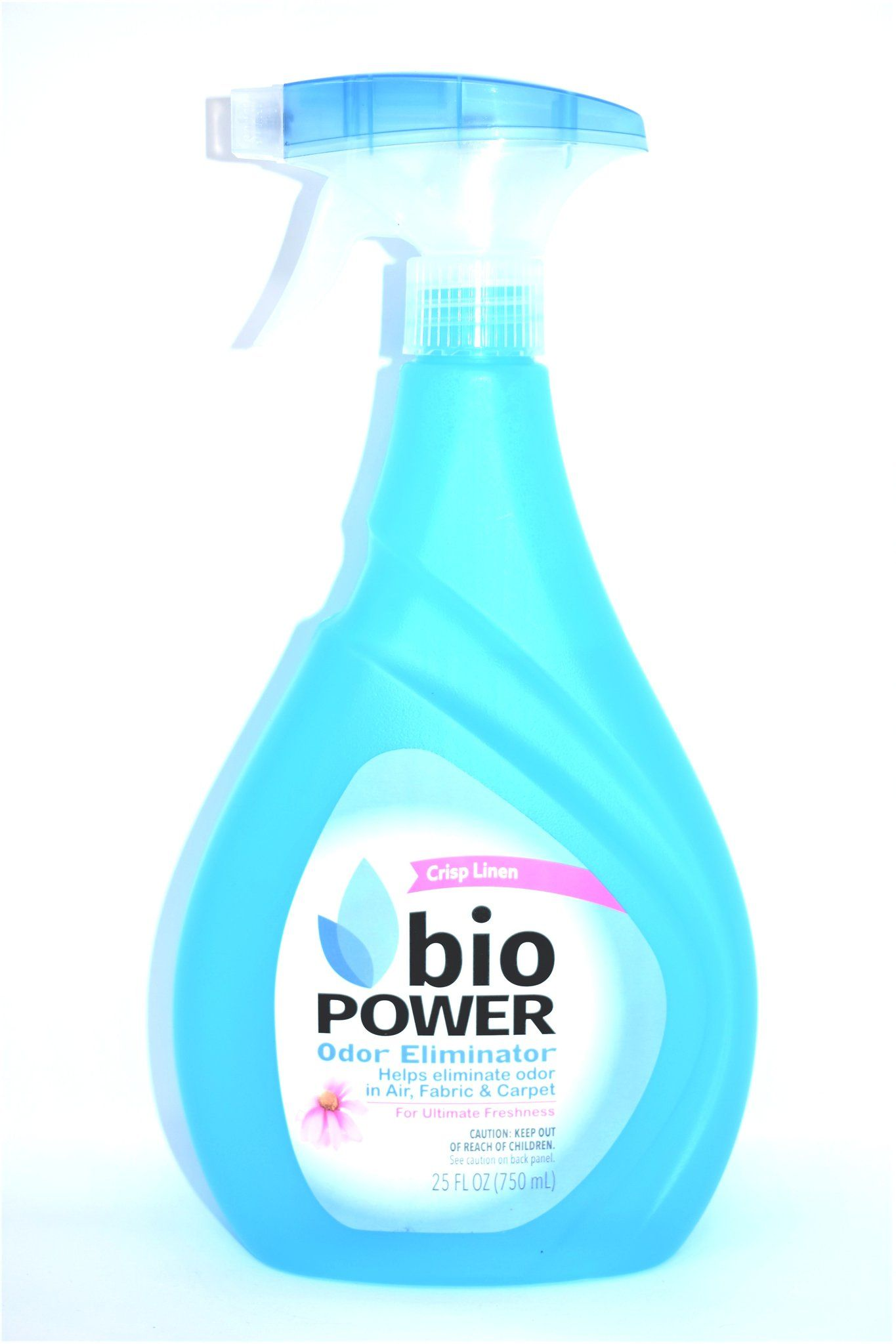 Bio Power Odor Eliminator Crisp Linen Scent, 25 fl oz