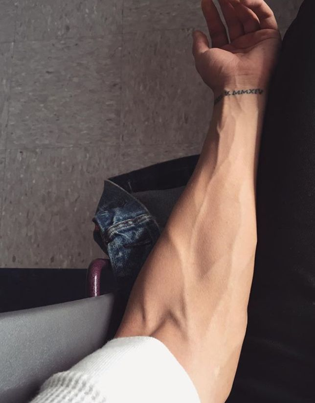 What makes a guy hot? Tendons, vascularity... veins
