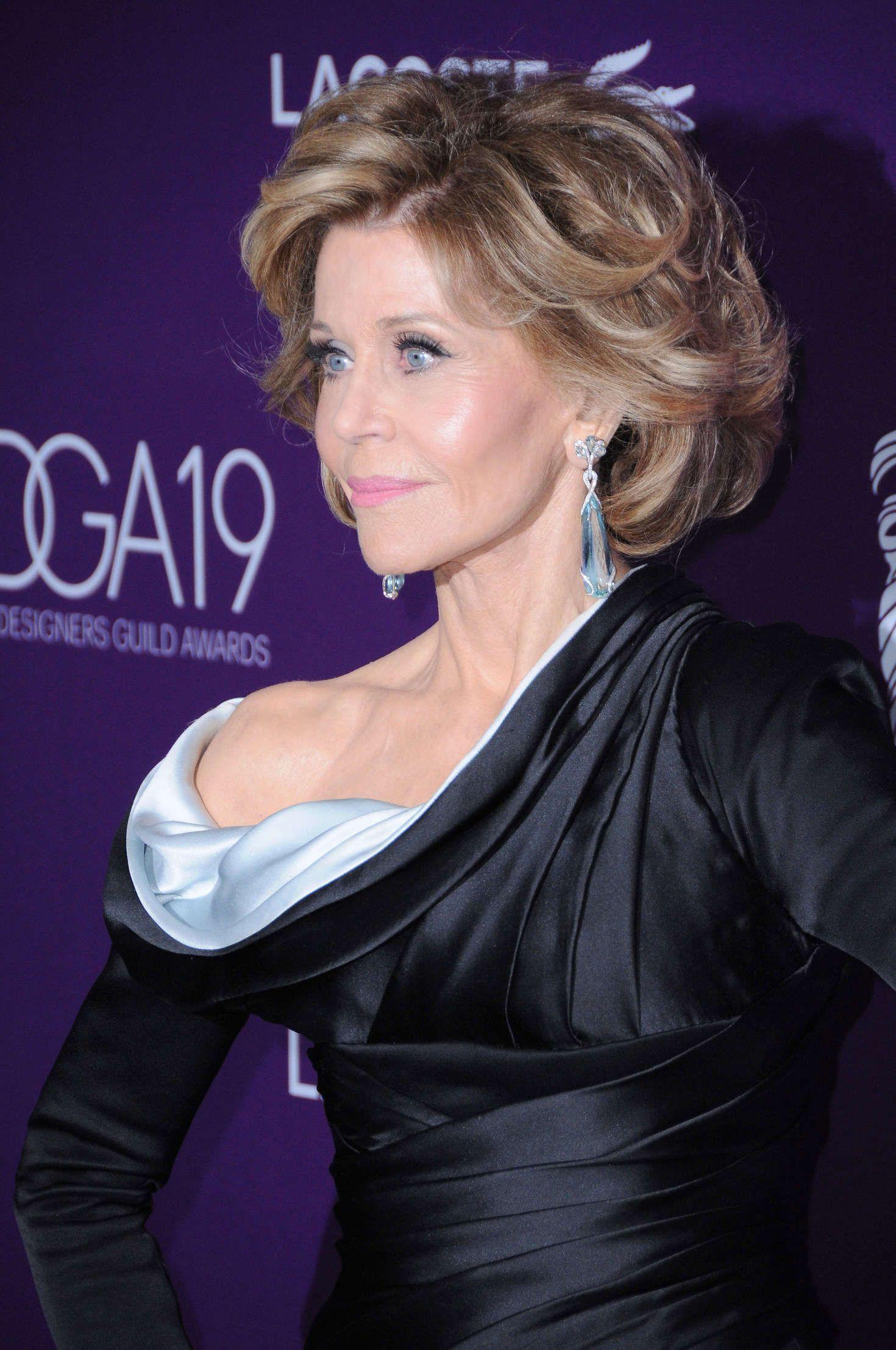 Super Jane Fonda Frisur Frisur Jane Fonda Haar Styling Styling Kurzes Haar