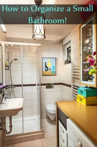 How To Organize A Small Bathroom Small Bathroom Organizing And - How to organize a small bathroom