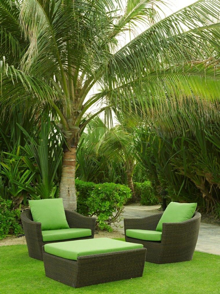 Mimbre y rattan para los muebles de jardín - 100 ideas | Pinterest ...