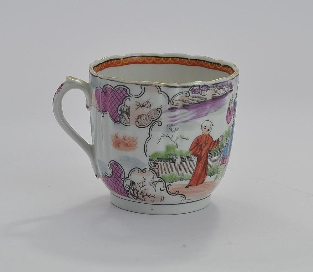 19thC Georgian Miles Mason Boy at the Door Pattern Coffee Cup -C1800 £22 & 19thC Georgian Miles Mason Boy at the Door Pattern Coffee Cup -C1800 ...