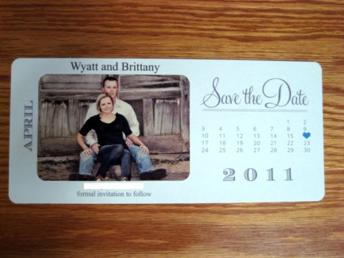 Magnetic Save The Dates Diy Arts Arts - Diy save the dates templates