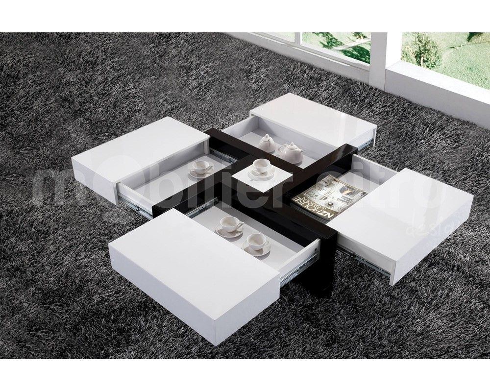 Table Basse Design Blanche Beau Table Basse Blanche Design Décoration Française Pinterest