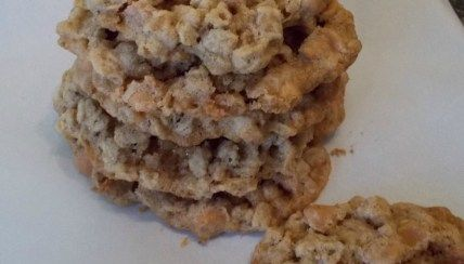 Gluten-Free Oatmeal Scotchies - Baking with Bridget ...