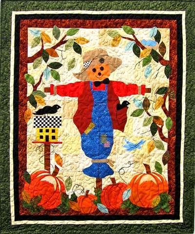 free scarecrow pattern | Autumn Scarecrow Quilt Pattern | quilting ... : free autumn quilt patterns - Adamdwight.com