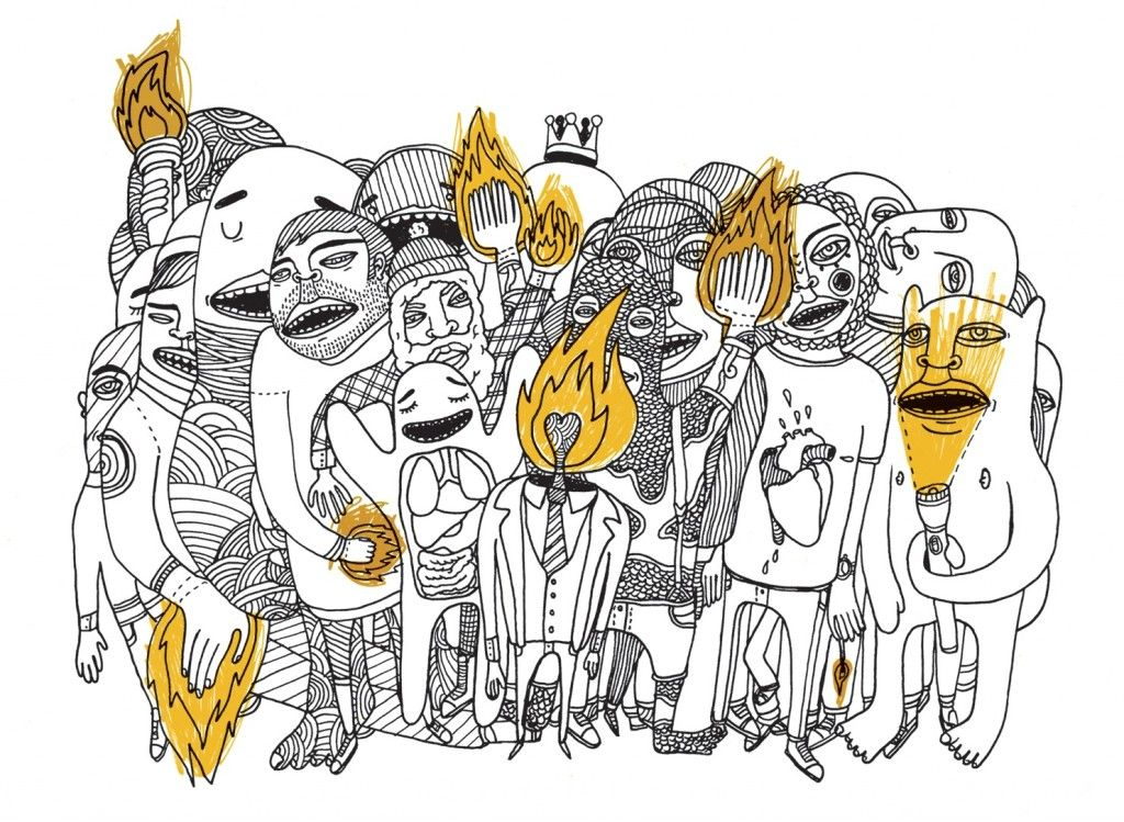 Cover Art For The Album Torches By Foster The People Tattoos